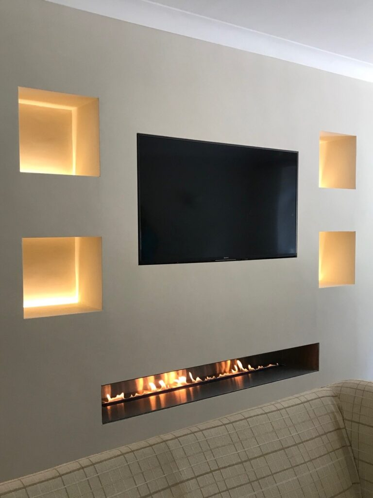 Fire Wave Customer Install With TV Above