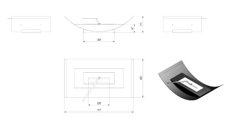 Paulden Large Tech Drawing