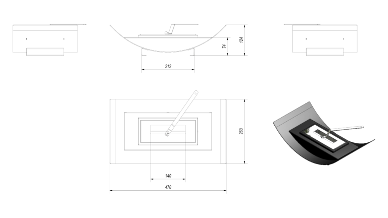 Paulden Mini Tech Drawing